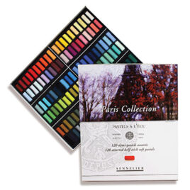 Sennelier Half Pastel Set of 120 'Paris Collection'