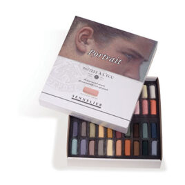 Sennelier Half Pastel Set of 40 Portrait Colours