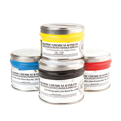 Graphic Chemical Company Lithography Inks | Heidelberg Fine