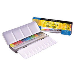 Sennelier Watercolour Set of 12 Half Pans