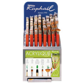 Acrylic brush selection