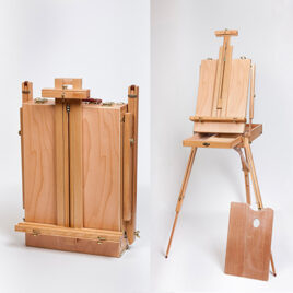 French Box Easel – Foldup