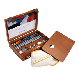 Sennelier Wooden Boxed Set