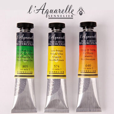 Sennelier watercolours 21ml