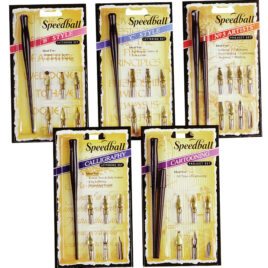 Speedball calligraphy sets