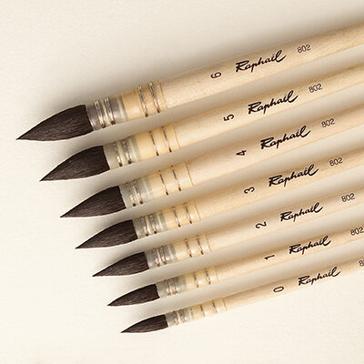 raphael watercolour brush