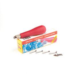 Set 5 Zip Cutters/Handle – Speedball