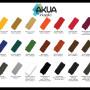 Akua Intaglio Colour Chart