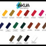 Liquid Pigment Color Chart