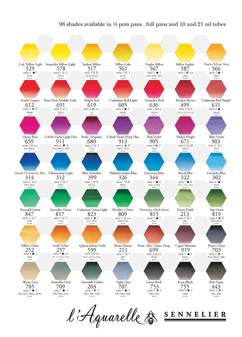 color mixing recipes for watercolor pdf