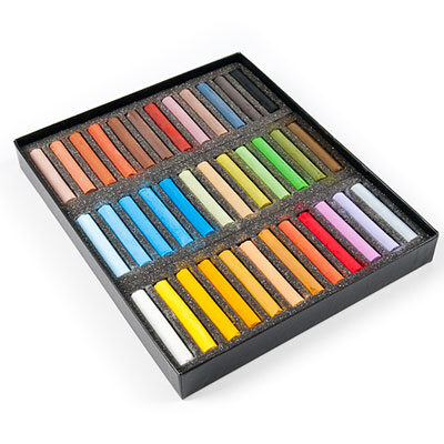 Blockx Soft Pastel Set of 36