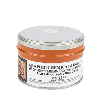 Graphic Chemical Company Raw Umber
