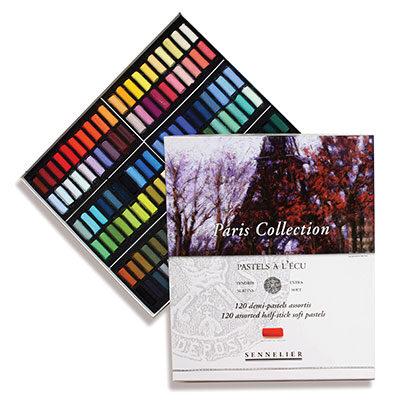 Sennelier Half Pastel Set of 120 'Paris Collection'