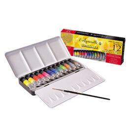 Sennelier Watercolour Set of 12 x 10ml Tubes