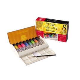 Sennelier Watercolour Set Field Travel Box