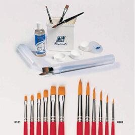 hobby and craft brushes