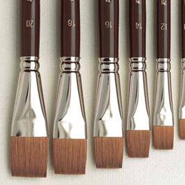 Red Sable - Fresco Brushes