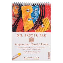 Oil Pastel Card