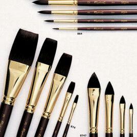 Raphael sepia brushes